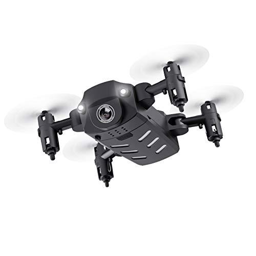YZT QUEEN Mini Drone Pieghevole, Adatto per Fotografia Aerea 4K, Scorrimento 3D a 360 °, modalità...