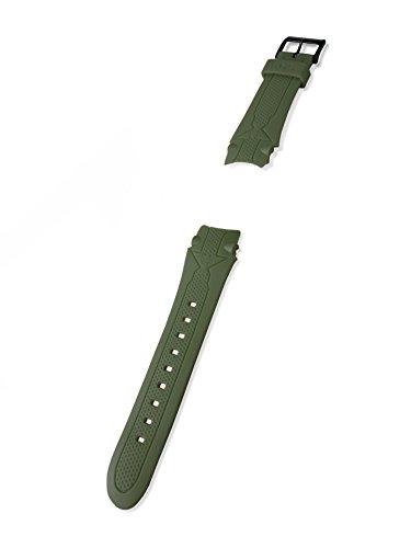 KHS Kunststoffband | Sentinel Oliv, Ersatzarmband, KHS.EBSEO.24, Uhrenarmband