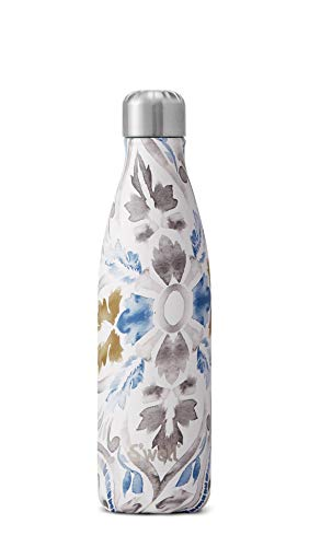 S'well Vacuum Insulated Stainless Steel Water Bottle, 17 oz, Lyon