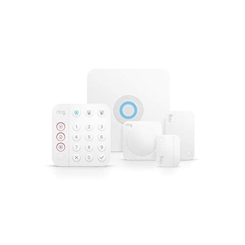 Ring Alarm 5-piece kit (2nd Gen) – home security system with optional 24/7 professional monitoring – Works with...