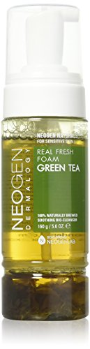 Neogen Dermalogy - Real Fresh Foam Green Tea, Limpiador Facial, 160gr