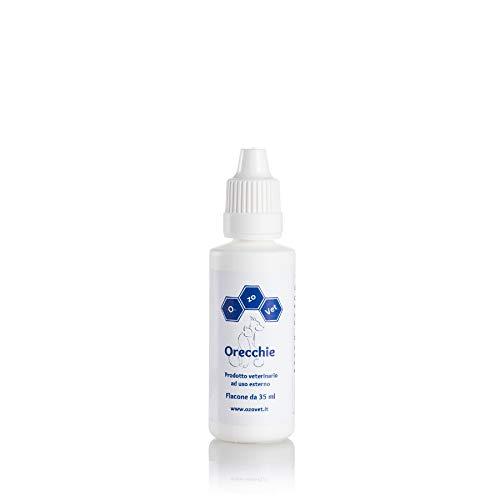 Ozo-Vet Orecchie - Soluzione per gatti - 20 ml