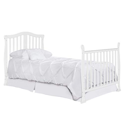 Product Image 9: Dream On Me Addison 4-in-1 Convertible Mini Crib in White, Greenguard Gold Certified