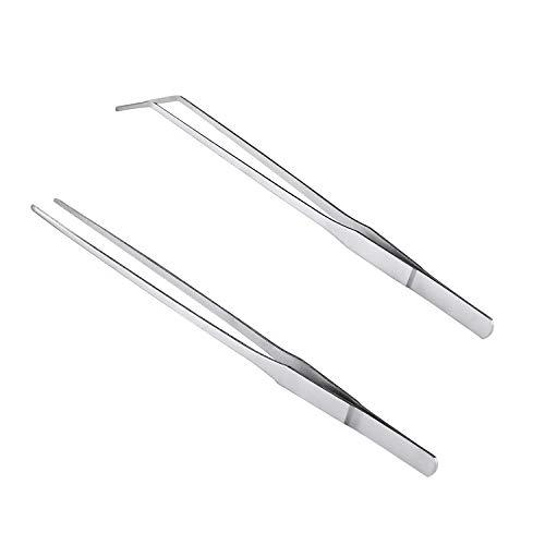 Daimay Aquarium Curved Tweezers - Stainless Steel