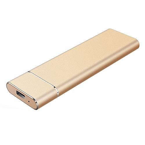 Proking Hard Disk 2 TB Esterno Portatile Ultra Slim Type C USB 3.1 Hard Disk Esterno per PC, Mac,...