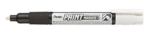Pentel MMP20 MMP20 Marcatore Vernice, 1 pezzo, Bianco