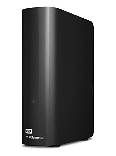 WD Elements - Disco duro externo de sobremesa de 6 TB con USB 3.0, color negro