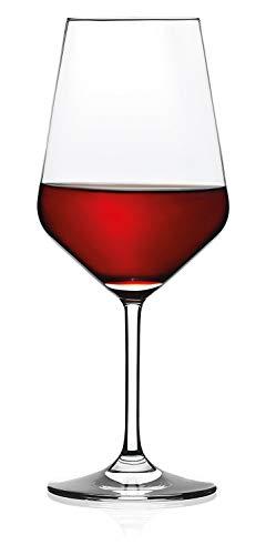 RASTAL - Collezione HARMONY - Set n 6 Calici da degustazione Vino Rosso Mod. H 53 - Capacit 53 cl.
