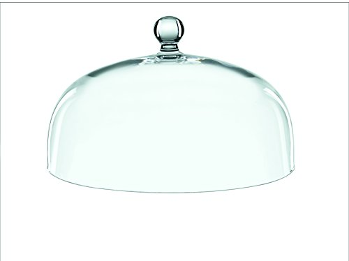 Spiegelau & Nachtmann, Kuchen-/Torten-/Glashaube, Ø 30 cm, Kristallglas, Bossa Nova, 0099529-0