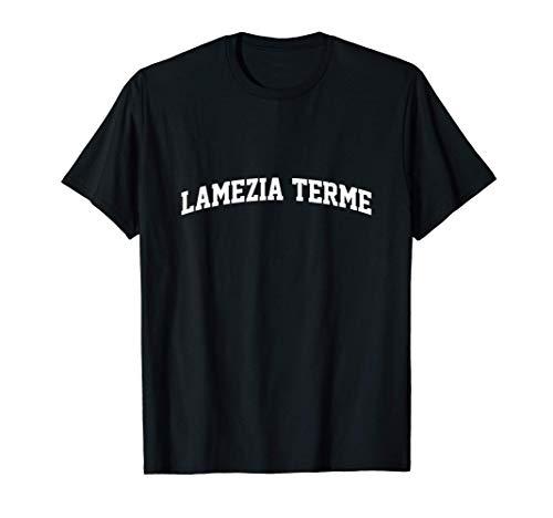 Lamezia Terme Vintage Retro College Sports Arch Maglietta
