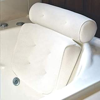 Homer's Choice Bath Pillow Bathtub Spa Pillow, Non-Slip 6 Large Suction Cups, Extra..