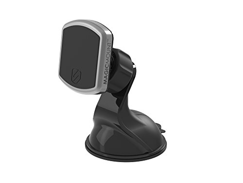 SCOSCHE MPWDB MagicMount Pro Universal Magnetic Mount Holder for Mobile Devices In Frustration Free Packaging, Black