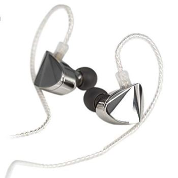 Moondrop KXXS Flagship Edition Diamond-Like-Carbon Dynamic in-Ear Earphone with Detachable Cable