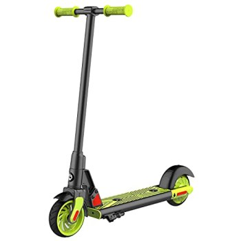 """Gotrax GKS Electric Scooter, Kick-Start Boost and Gravity Sensor Kids Electric Scooter, 6"""" Wheels UL Certificated E Scooter for Kids Age of 6-12 (Green)"""