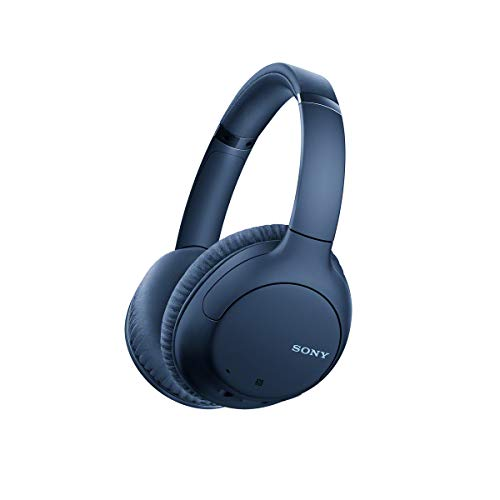 Sony Noise Cancelling Headphones WHCH710N: Wireless Bluetooth Over the Ear Headset with Mic for...