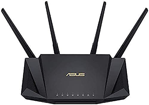 ASUS WiFi 無線 ルーター WiFi6 2402+574Mbps デュアルバンド RT-AX3000 メッシュ機能付 3階建/4LDK PS5/Ni...