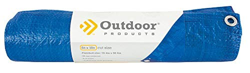 Outdoor Products Plastic Tarp (6 ft x 8 ft) (Sports)
