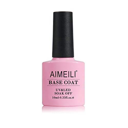 AIMEILI Nutrition Base Coat Soak Off UV LED Gel Nail Polish