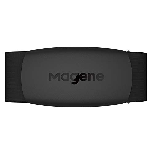 Magene Heart Rate Monitor, H64 Heart Rate Sensor Chest Strap, Protocol ANT+/Bluetooth