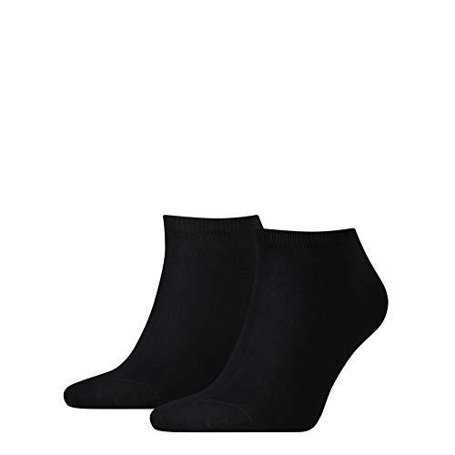 Tommy Hilfiger Th Men Sneaker 2P - Calzini Corti, uomo, Nero (Schwarz (Black)), 39/42