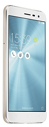 Asus ZenFone 3 (ZE552KL) Dual-SIM Smartphone (5,5 Zoll (14 cm) Full-HD Touch-Display, 64GB Speicher, Android 6.0) weiß (Moonlight White)