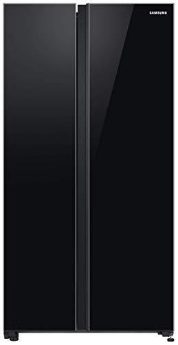 Samsung 700 L with Inverter Side-by-Side Refrigerator (RS72R50112C/TL, Black)