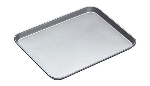 Kitchen Craft KC2BK23 Teglia Antiaderente da Forno, 38x30.5x2 cm, Argento
