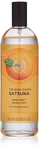 The Body Shop Satsuma Body Mist, Paraben-Free Body Spray, 3.3 Fl. Oz.