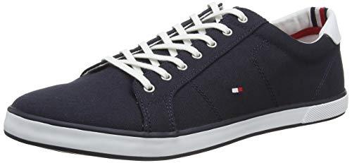 Tommy Hilfiger H2285ARLOW 1D, Zapatillas para Hombre, Azul (Midnight), 43 EU