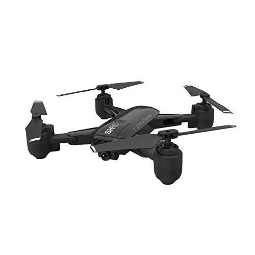 TwoCC Elicottero Rc, Shrc H1 5G Wifi Fpv Gps con Videocamera 1080P Hd Quadricottero Rc Posizionamento Gps Intelligente Follower Piegato Dell'Aeromobile Drone Pieghevole con Scatola di Immagazzinaggio