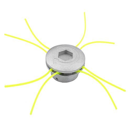 Universal Alluminio Strimmer Head Trimmer Heads String Set Grass Brush Cutter Accessori Power Tools...