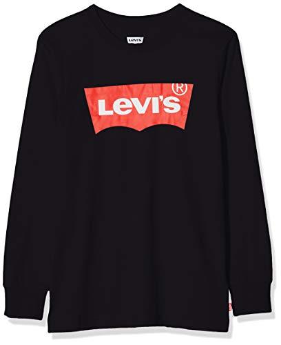 Levi's Kids Lvb L/S Batwing Tee Maglia a maniche lunghe Bambino Black 12 anni