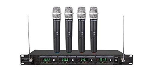 4. GTD Audio G-380 Wireless Mic System