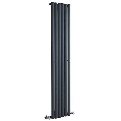 Milano Hudson Reed Vitality – Radiateur Design Vertical – Anthracite – 160 x 35,4cm