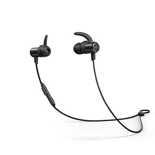 Anker SoundBuds Slim(ワイヤレスイヤホン カナル型)【Bluetooth 5.0 / 10時間連続再生 / IPX7防水規格 / マイク内蔵】iPhone、Android各種対応(ブラック)   Anker   家電&カメラ