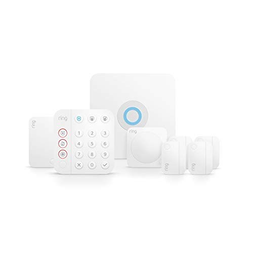 Ring Alarm 8-piece kit (2nd Gen) – home security system with...