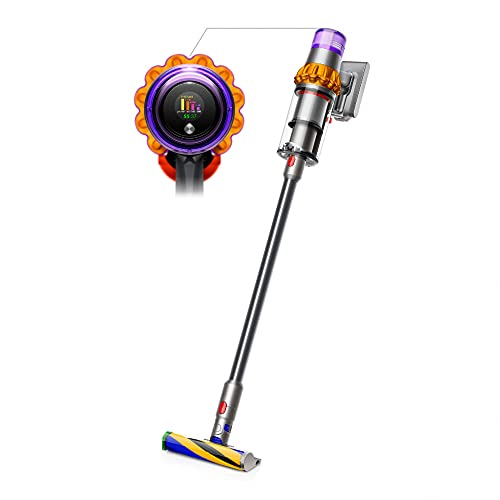 Dyson - V15 Detect Aspiradora Inalámbrica - Amarillo/Níquel