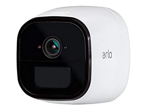 Arlo Go, cámara de vigilancia 4G, 3G LTE 100% inalámbrico, compatible con cualquier SIM de operador, almacenamiento en la nube, interior / exterior, funciona con Alexa y Google Wi-Fi, VML4030-100PES