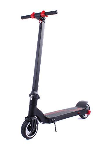 Dr. Ferrari GmbH E-Scooter Speed 23 km/h, 25 Kilometer Reichweite nur 11,6 kg leistungstarker Elektro E-Roller Elektroroller E Roller Tretroller 350 Watt, 8,0 AH