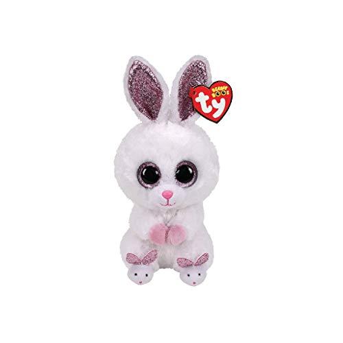 Ty Beanie Boos – Slippers The White Bunny (Glitter Eyes)(Regular Size – 6 inch)