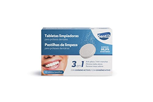 Senti2 Tabletas Limpiadoras Para Prótesis Dentales - Es, Me