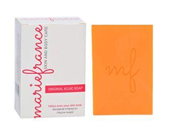 Pure Kojic Acid Soap (Maximum Strength) for Dark Spots & Hyperpigmentation, Helps Even Skin Tone (Not for Sensitive Skin)