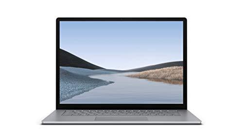 "Microsoft Surface Laptop 3 - Ordenador portátil de 15"" táctil (AMD Ryzen 5-3580U, 8GB RAM, 128GB SSD, AMD Radeon Vega 9, Windows 10 Home) Plata - Teclado QWERTY Español"
