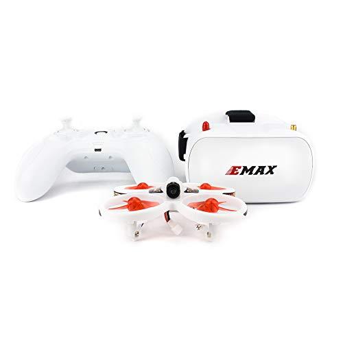 ETbotu Droni telecomandati,Drone da corsa FPV per principianti pilota Emax EZ con telecamera CMOS 600TVL 37CH 25mW RC Quadcopter RTF