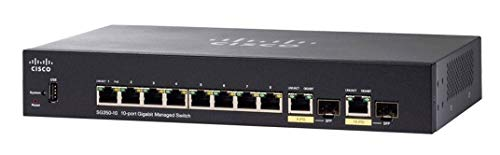 Cisco SG350 – 10 10-Port Gigabit Managed...