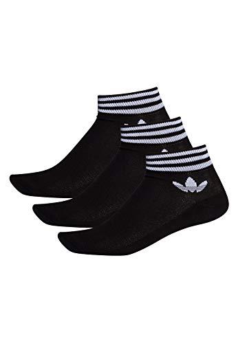 adidas TREF ANK SCK HC Calzini, Unisex  Adulto, Black/ White, 3538