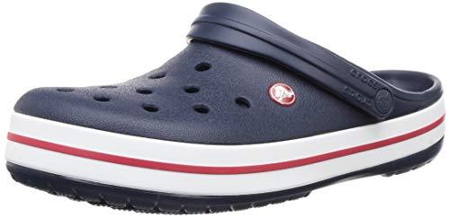 Crocs Crocband, Zuecos Unisex Adulto, Azul (Navy), 37/38 EU