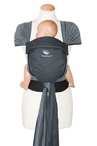 Manduca Twist - Marsupio porta bebè, colore: Antracite e Nero