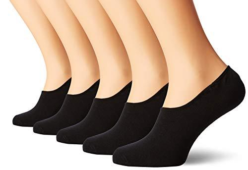 JACK & JONES Jacbasic Multi Short Sock 5 Pack Noos Calze, Nero (Black), Taglia unica (Pacco da 5) Uomo