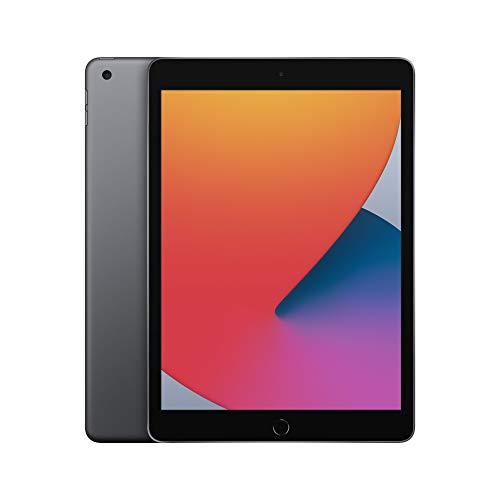 Apple iPad (de 10.2pulgadas, con Wi-Fi y 128GB) - Gris espacial (Ultimo Modelo, 8.ªgeneración)